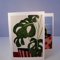 Botanical Cards - Reproduction  - Set of 2
