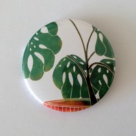 Swiss Cheese Plant Badge