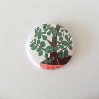 Money Tree Pocket Mirror