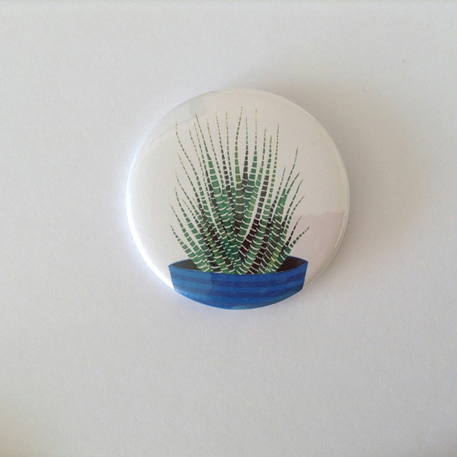 Haworthia Pocket Mirror