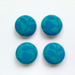 38mm Bold Blue Money Tree Buttons