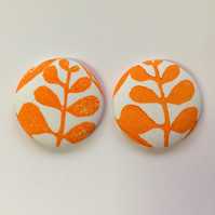 47mm Orange Money Tree Fridge Magnets