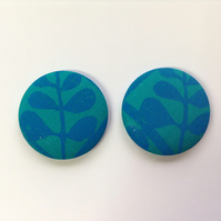 47mm Blue Money Tree Fridge Magnets