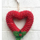 Heart wreath,Christmas