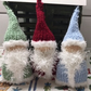 Knitted Christmas Santa,hanging decoration,more decoration, first Christmas