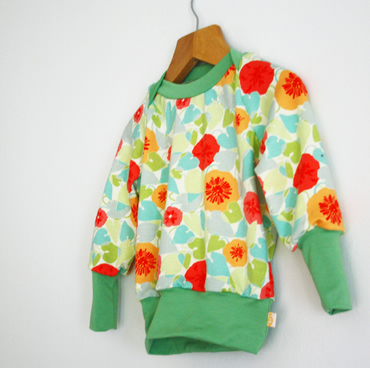 Baby Toddler Sweater - Poppies Baby Sweater