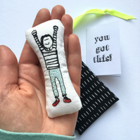 Miniature Good Luck Doll, Inspirational Gift