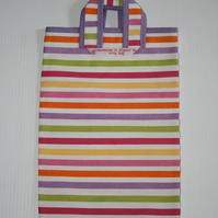 MINI 'STRIPEY' TOTE BAG FOR KIDS