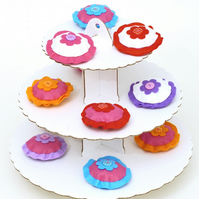 FELT SEWING KIT: CUPCAKE PINCUSHION KIT FOR KIDS