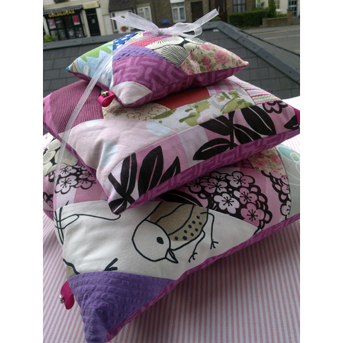 Patchwork Cushions - set of 3