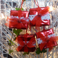 Christmas Present Tree Decorations Red, Red  FREE POST