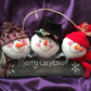 Felt Snowman Wall Decoration 1