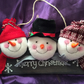 Felt Snowman Wall Decoration 3