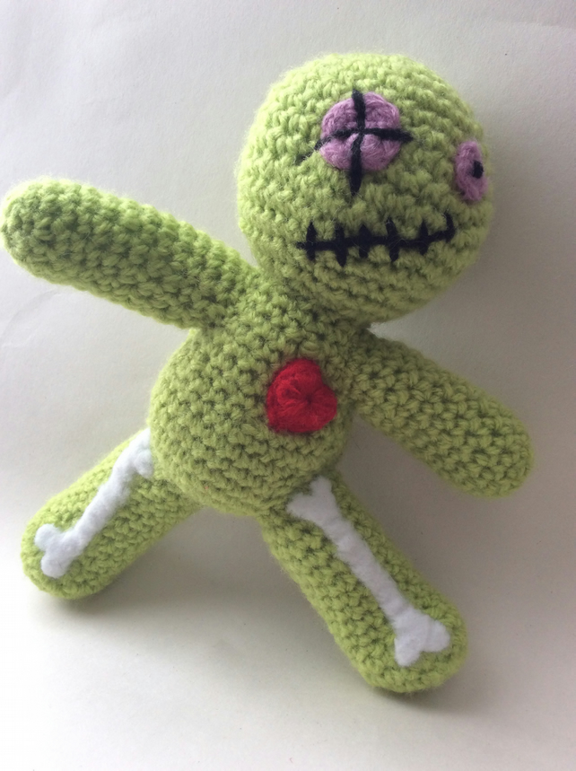 Rabbit Voodoo Doll crochet amigurumi toy. Pincushion | Häkeln ... | 860x642