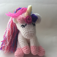 Amigurumi Cute Crochet Unicorn