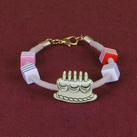 1 - CHILD'S LEATHER THONG BRACELET