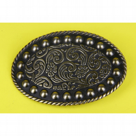 4- OVAL ARCHED BELT BUCKLE