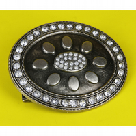 1 - OVAL BELT BUCKLE