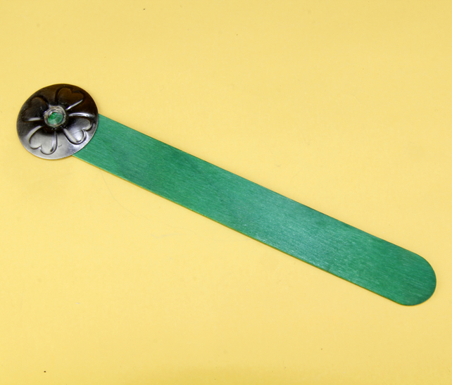 5 - GREEN LOLLYPOP BOOKMARK