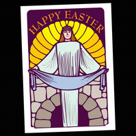 6 - EASTER GREETINGS CARD