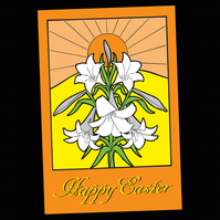 8 - EASTER GREETINGS CARD