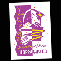 11 - EASTER GREETINGS CARD