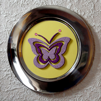 BUTTERFLY RELIEF PLATE