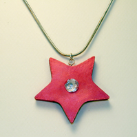 STAR CLAY PENDANT