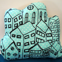 Crowded Houses printed Plush