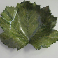 Ceramic leaf bowl - large