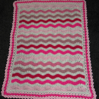 Baby Crochet Ripple Blanket