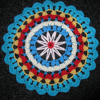 Colourful Cotton Mandala Table Decoration
