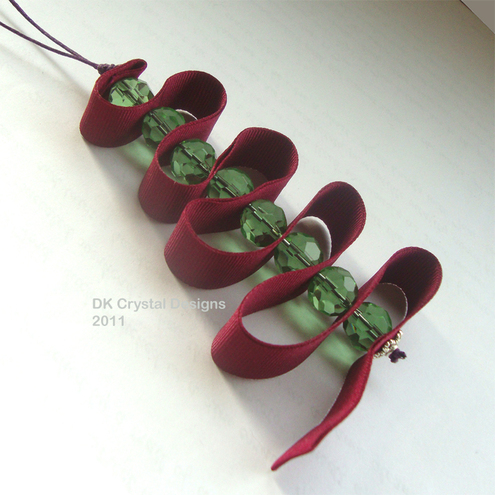 Christmas Tree Decoration - Ribbon tree