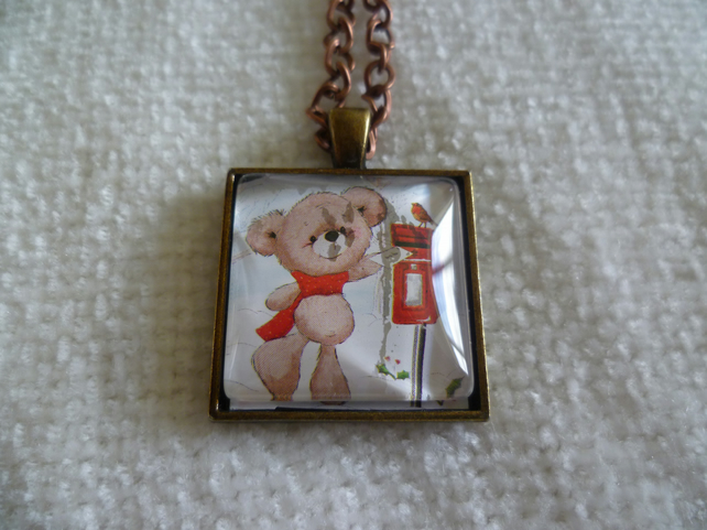 Christmas Bear Pendant