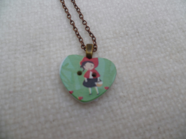 Red Riding Hood Pendant
