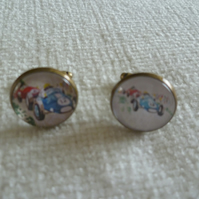 Racing Cars Cuff Links