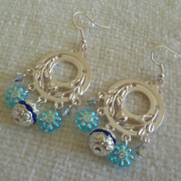 Silver Chandelier Earrings 2