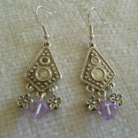 Silver Chandelier Earrings 3