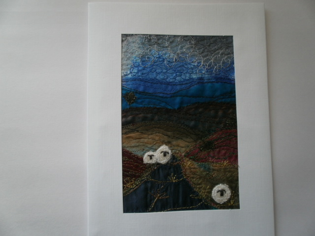 Heather Moors Textile Art Giclee Print