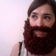 Knitted Loopy Beard - RESERVED FOR DANIEL BATKIN-SMITH