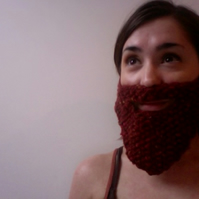 Knitted Rusty Beard