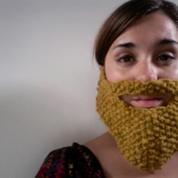 Knitted Yellow Beard