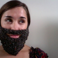 Knitted Grey Beard