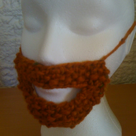 Knitted Mini Ginger Beard