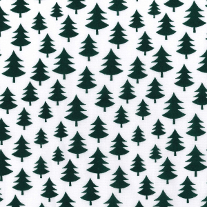 Scandi Nordic Christmas trees in green half metre