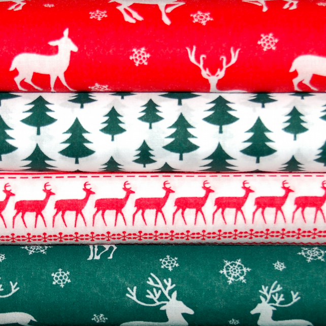 Scandi Nordic Christmas bundle FQ