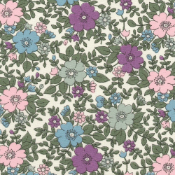 English Classics cotton poplin Meadow liberty lilac pink CP0223