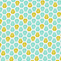 Ladybug in turquoise by aneela hoey for cloud9 FQ
