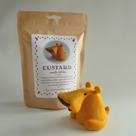 Custard the Dog needle felting kit