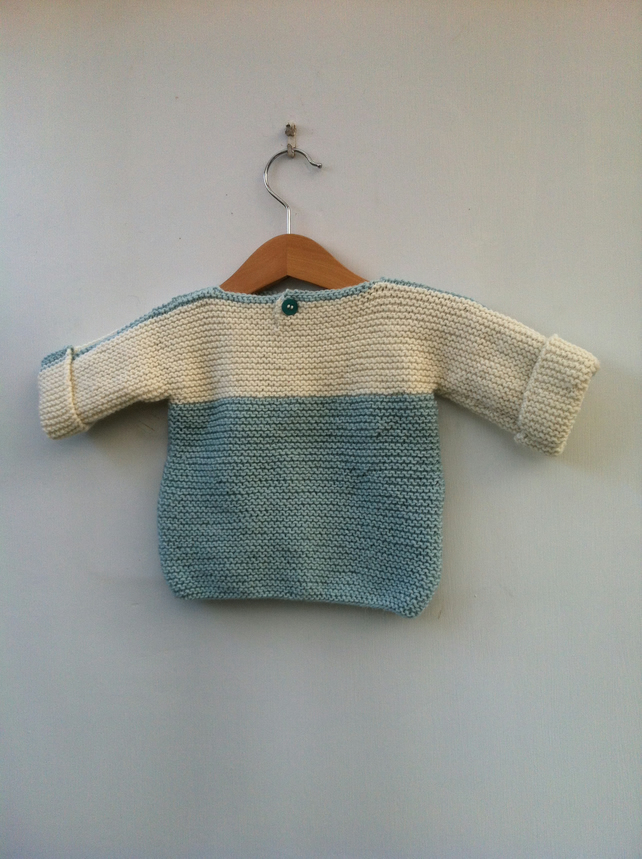 Knitted baby jumper